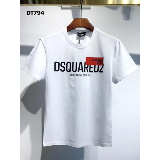 DSQUARED2(ディースクエアード)のDSQUARED2(DT794) 2枚9200円 Tシャツ M-3XLサイズ選択 メンズのトップス(Tシャツ/カットソー(半袖/袖なし))の商品写真