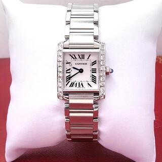 Cartier - カルティエ タンクフランセーズ レディース腕時計