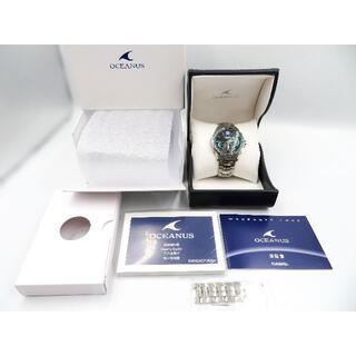 カシオ(CASIO)の美品 CASIO オシアナスマンタ S3400 世界限定500本 電波時計 (腕時計(アナログ))