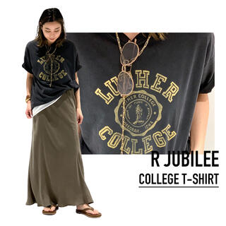 L'Appartement DEUXIEME CLASSE - R JUBILEE アール ジュビリー 別注 LUTHER COLLEGE T