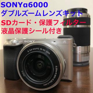 SONY - SONY α6000 ダブルズームレンズキット※SDカードおまけ付き※