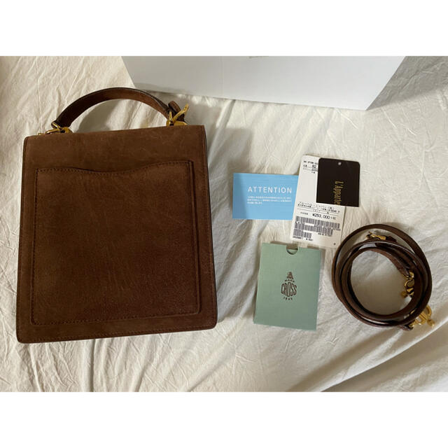 L'Appartement DEUXIEME CLASSE(アパルトモンドゥーズィエムクラス)のL'Appartement MARK CROSS UPTOWN BAG レディースのバッグ(ショルダーバッグ)の商品写真