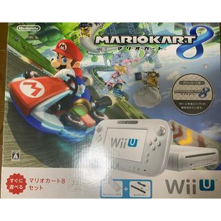 任天堂 - Wii U すぐに遊べるマリオカート8セット(シロ)/Wii U/WUPSWAG