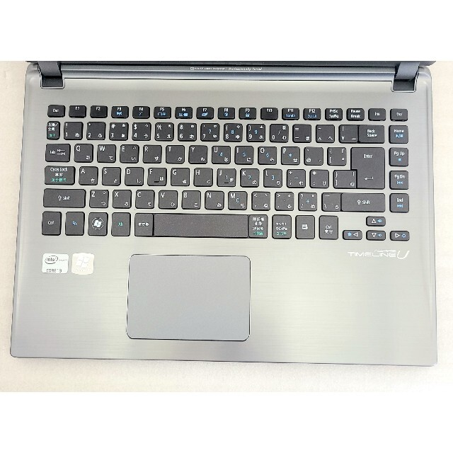 Acer(エイサー)のノートパソコン 軽量贅沢モデル 高速 Core i3 500GB office スマホ/家電/カメラのPC/タブレット(ノートPC)の商品写真