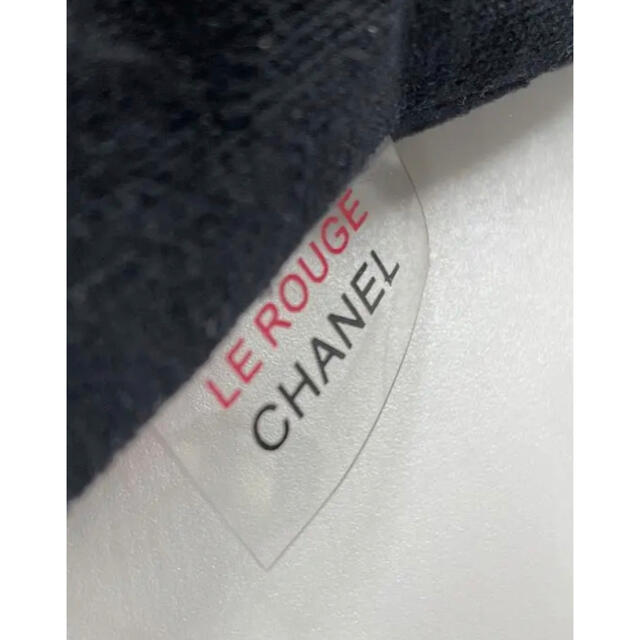CHANEL(シャネル)のシャネル CHANEL ノベルティポーチ ベロア エナメル 素材 ノベルティ レディースのファッション小物(ポーチ)の商品写真