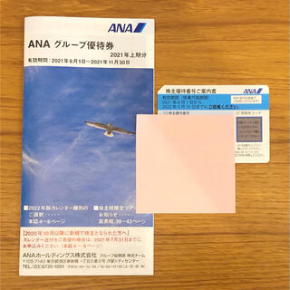 エーエヌエー(ゼンニッポンクウユ)(ANA(全日本空輸))のANA株主優待 (1枚+1冊)(その他)