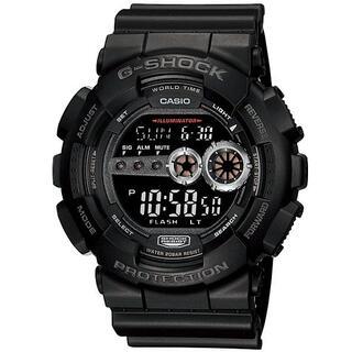 カシオ(CASIO)のカシオ G-SHOCK スポーティデザイン 7年バッテリー 腕時計 ブラック(腕時計(デジタル))