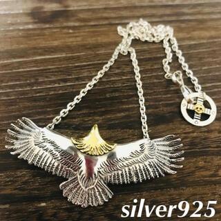 goro's - silver925 頭金 イーグル チェーン ネックレス / ゴローズ 好きに