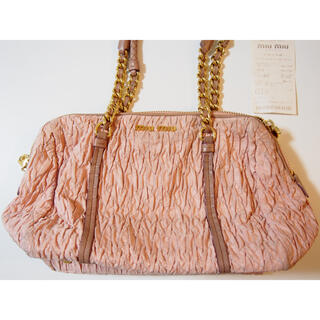 miumiu - miu miu ハンドバッグ