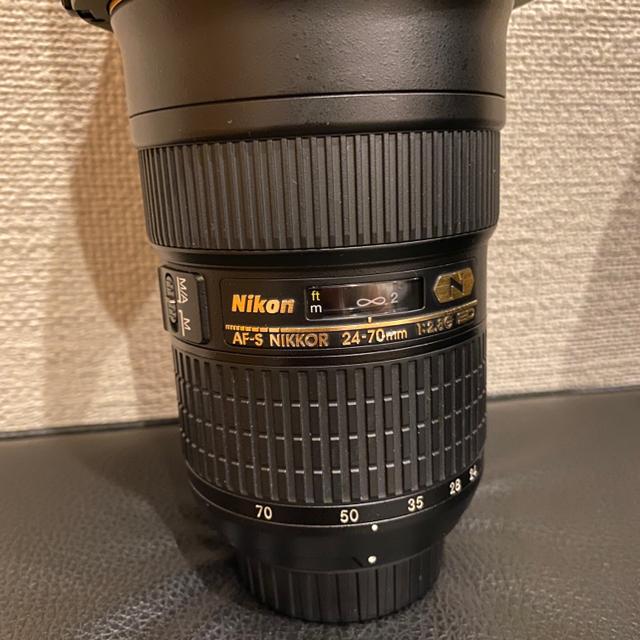 Nikon(ニコン)のh。様専用 NIKKOR24-70mmf/2.8G スマホ/家電/カメラのカメラ(デジタル一眼)の商品写真