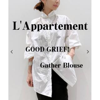 アパルトモンドゥーズィエムクラス(L'Appartement DEUXIEME CLASSE)のL'Appartement♡GOOD GRIEF! ♡Gather Blouse(シャツ/ブラウス(長袖/七分))
