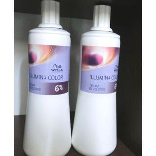 WELLA - 新品! ウェラ イルミナカラー専用 オキシ2剤 6% 2本