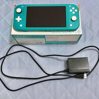 Nintendo Switch - switch lite ターコイズ本体