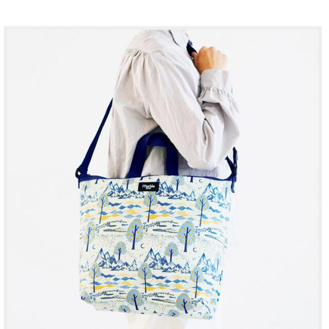 marble sud  マーブルシュッド×リンネル 保冷・保温 BIGエコバッグ レディースのバッグ(エコバッグ)の商品写真