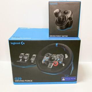 G29ドライビングフォース+クイックシフター