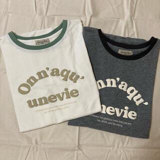 SM2 - SM2 発泡ロゴプリントTシャツ 2枚セット