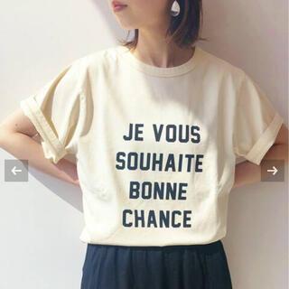IENA - イエナ オゾン加工ロゴ Tシャツ