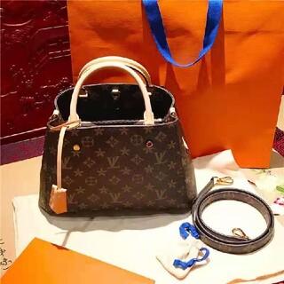 LOUIS VUITTON - 美品ルイヴィトン☆モンテーニュBB 2wayハンドバッグ