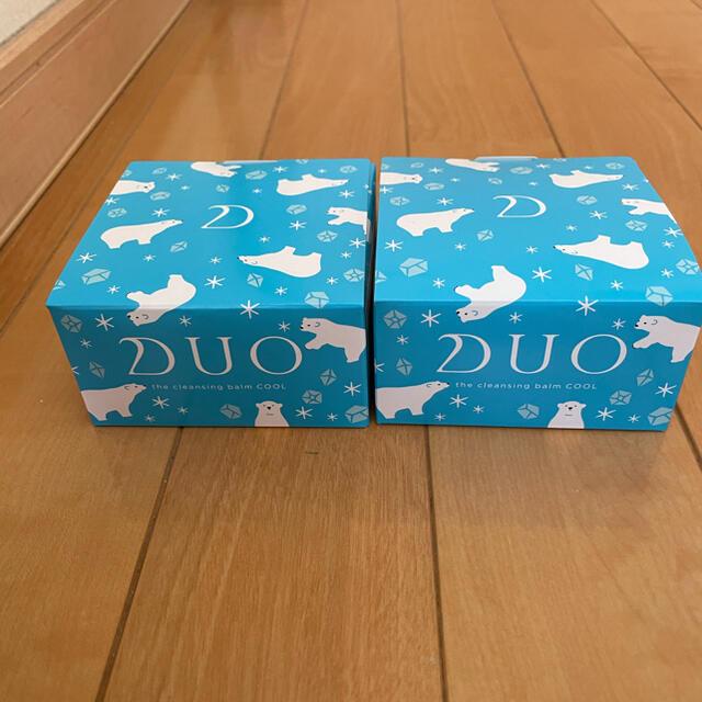 DUO クレンジングバームクール90g×2個 コスメ/美容のスキンケア/基礎化粧品(クレンジング/メイク落とし)の商品写真