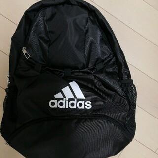 adidas - 新品 未使用 アディダス サッカー リュック ボール専用 黒 ブラック 小学生
