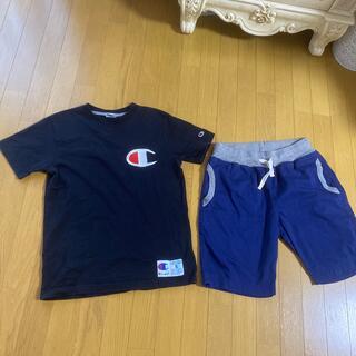 Champion - チャンピオン 刺繍ロゴ Tシャツ Sサイズ