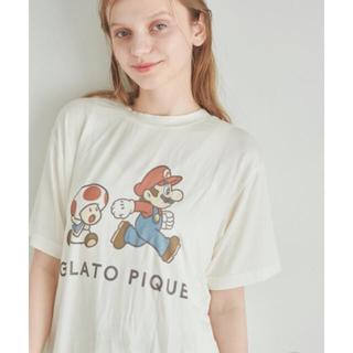 gelato pique - 【スーパーマリオ 限定商品】【UNISEX】キャラクターTシャツ
