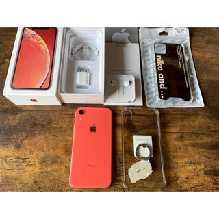 iPhone - iPhone XR Coral 64 GB SIMフリー