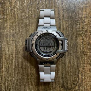 カシオ(CASIO)のCASIO PROTREK TRIPLESENSOR TITANIUM BACK(腕時計(デジタル))