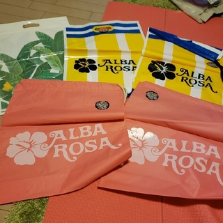 ALBA ROSA - ① 5枚セット‼️アルバローザ&mejane ショッパー ショップ袋 夏プール
