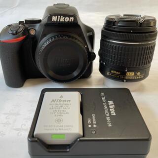 Nikon - ショット数2000枚弱Nikon D3500 18-55 VR キット予備電池有