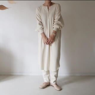 DEUXIEME CLASSE - argue    cotton wool tunic