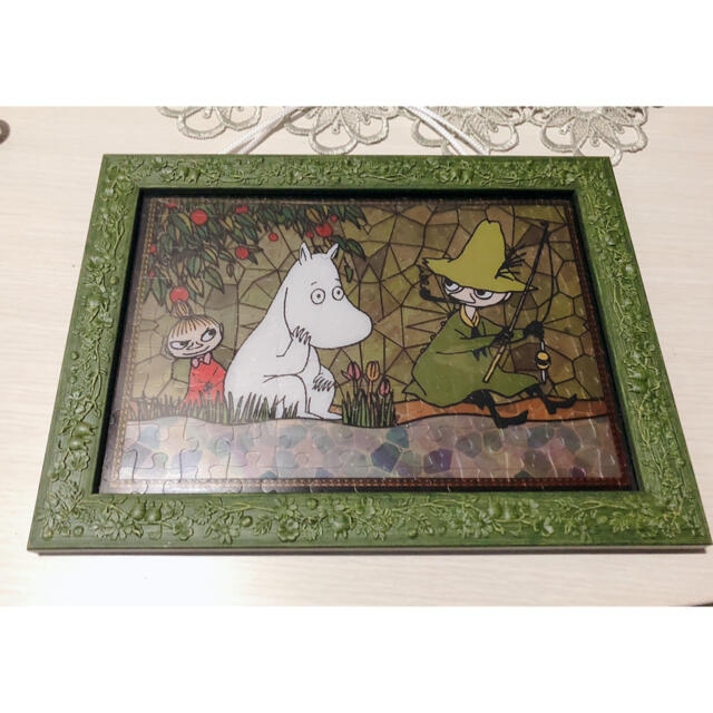ムーミン ジグソーパズル ステンドグラス風 エンタメ/ホビーのおもちゃ/ぬいぐるみ(キャラクターグッズ)の商品写真