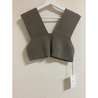 HYKE - 希少 新品未使用21SS HYKE sweater top    グレー