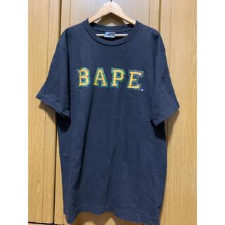 A BATHING APE - アベイジングエイプ a bathing ape t  Tシャツ ロゴ