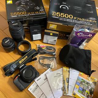 Nikon - Nikon D5500 ダブルズームキット BLACK