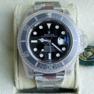ROLEX - 未使用 美品 ロレックス サブマリーナ 腕時計 116610LN ブラック文字盤