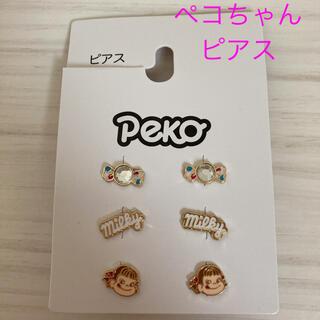 シマムラ(しまむら)の新品未使用 サンリオ ペコちゃん ピアス 6P キラキラ (ピアス)