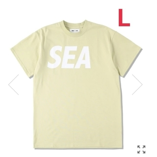 SEA - WIND AND SEA S/S T-SHIRT/PARCHMENT-WHITE