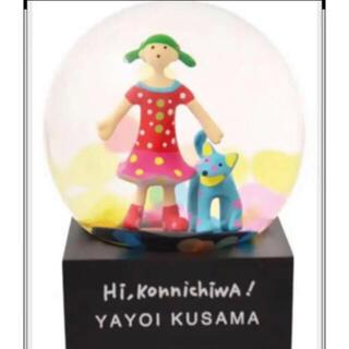 草間彌生 スノードーム Hi-Konnichiwa トコトン