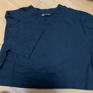 ZARA - ZARA♡ショート丈Tシャツ