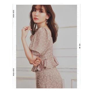 スナイデル(snidel)のHer lip to Muguet-Printed Romantic Set(セット/コーデ)