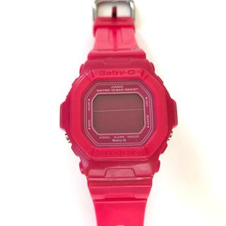 ベビージー(Baby-G)のベビーG 腕時計 ピンク ネオンカラー CASIO カシオ(腕時計)