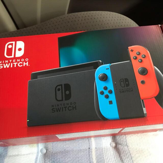 Nintendo Switch(ニンテンドースイッチ)の任天堂スイッチ本体 新品 エンタメ/ホビーのゲームソフト/ゲーム機本体(家庭用ゲーム機本体)の商品写真