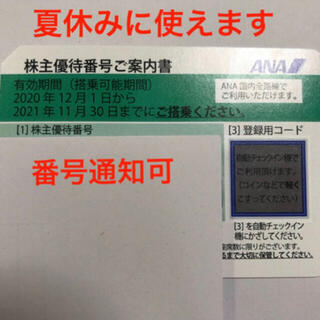 エーエヌエー(ゼンニッポンクウユ)(ANA(全日本空輸))のANA 株主優待 ★有効期限:2022/5/31(その他)
