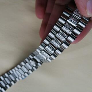 ☆ 極 美品 汎用 ロレックス メタル バンド 20mm 工具付き ss-02