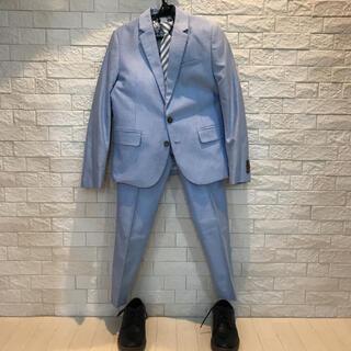 エイチアンドエム(H&M)の【美品】子供用 H&Mスーツ上下セット、ネクタイ、ZARAブーツ(ドレス/フォーマル)