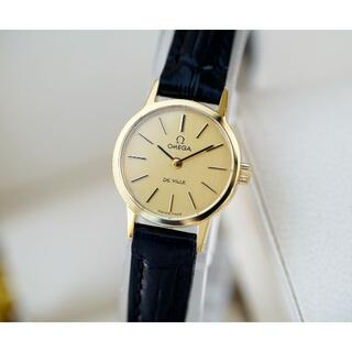 オメガ(OMEGA)の美品 オメガ デビル ゴールド 手巻き レディース Omega (腕時計)