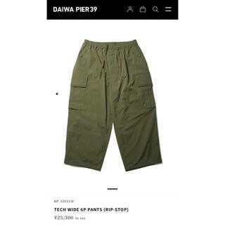 DAIWA - 定価以下 DAIWA PIER 39 tech wide 6P pants