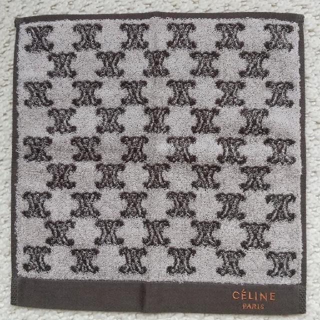 celine(セリーヌ)のセリーヌ タオルハンカチ  ミニテリー レディースのファッション小物(ハンカチ)の商品写真