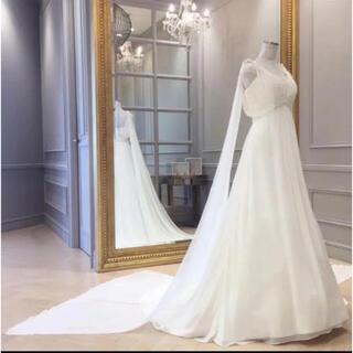 タカミ(TAKAMI)のSALE タカミブライダル  ウェディングドレス エンパイア 7号花嫁 卒花(ウェディングドレス)